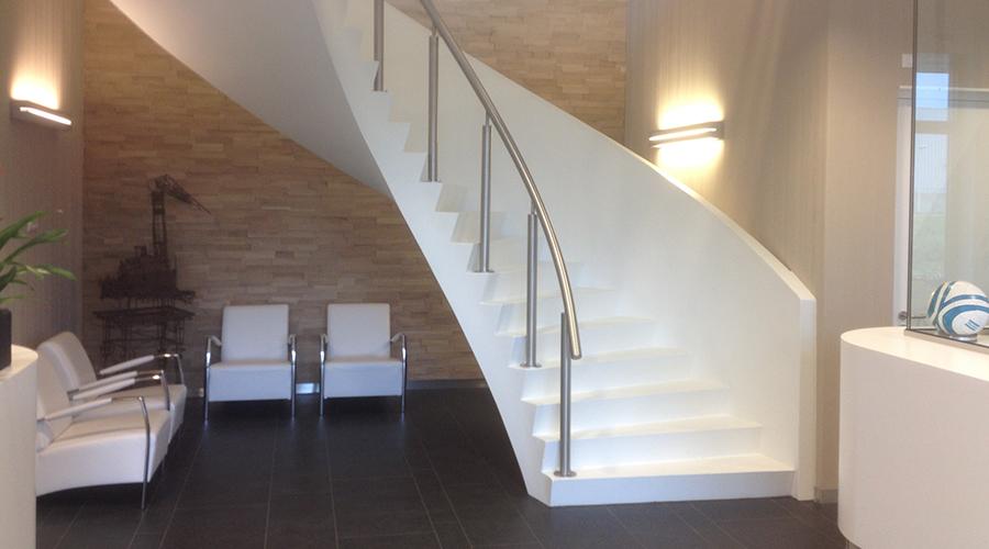 Betesco: takes concrete to a higher level wij bouwen betontrappen